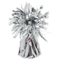 FOIL BALLOON WEIGHT SILVER  PK 12  BW30337