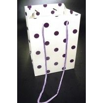 OLYMPIC BAG PURPLE DOT x 10 X13537