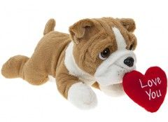 30cm LAYING BEANIE BULLDOG 441553 out of stock