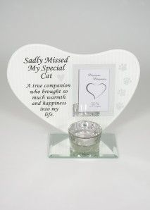 HEART PLAQUE FRAME CAT DF17397