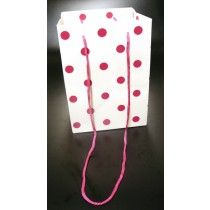 OLYMPIC BAG CERISE DOT x 10 X13535
