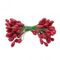 RED DOUBLE ENDED BERRIES x 50 DCP526